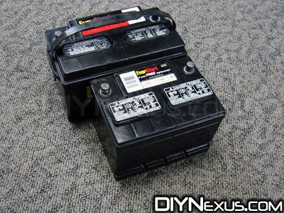 VW MK2 battery terminal