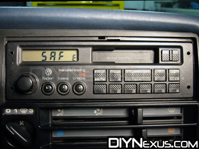 vw mk2 golf jetta gti coding the heidelberg vi radio. Black Bedroom Furniture Sets. Home Design Ideas
