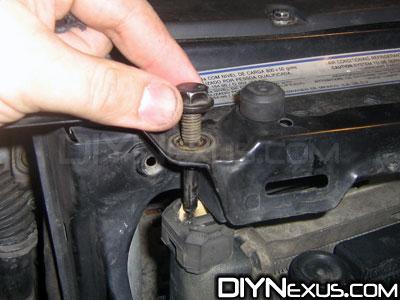 Radiator bolt