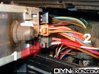 VW MK2 radio plug removal